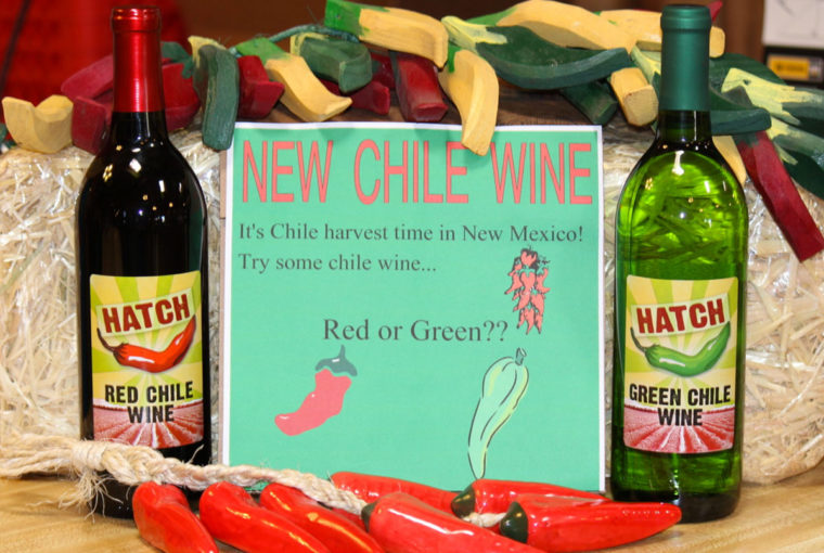 Green Chile Wine vino