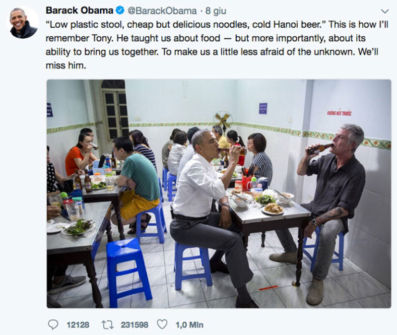 obama anthony bourdain