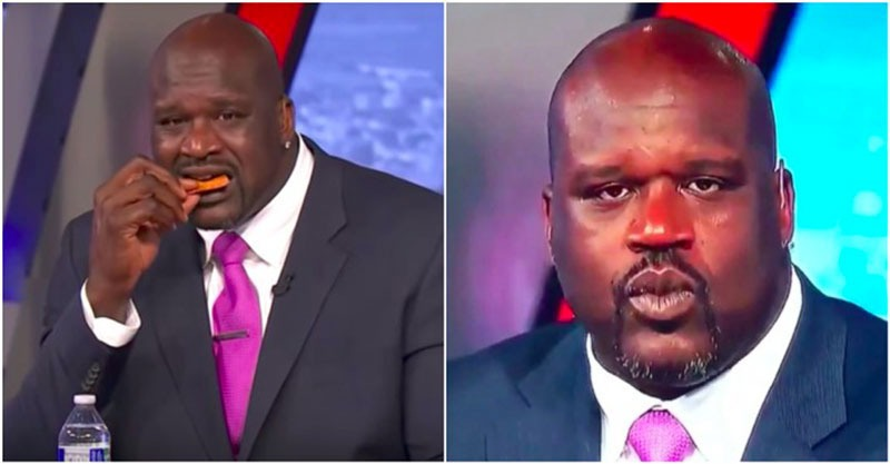 pepper challenge shaquille o neal