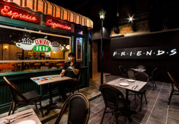 Central Perk Singapur Friends menù