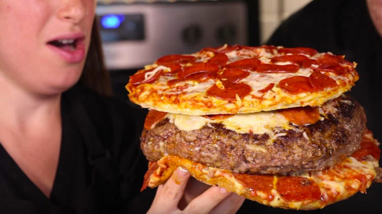 formas pizza hamburguesa