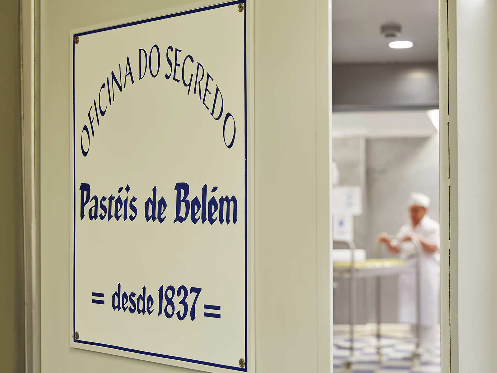 Pastais de Belem, ecco l'oficina do segredo