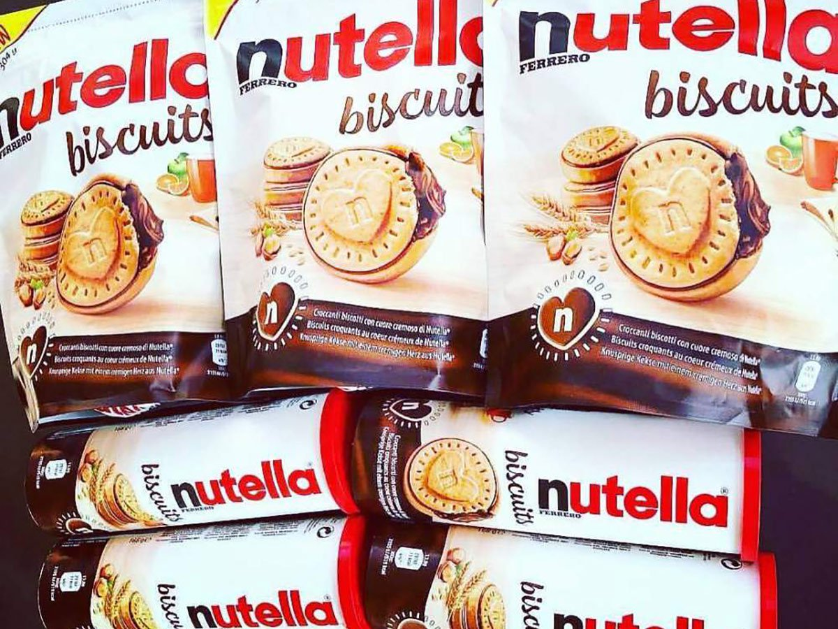 Nutella biscuits Germania
