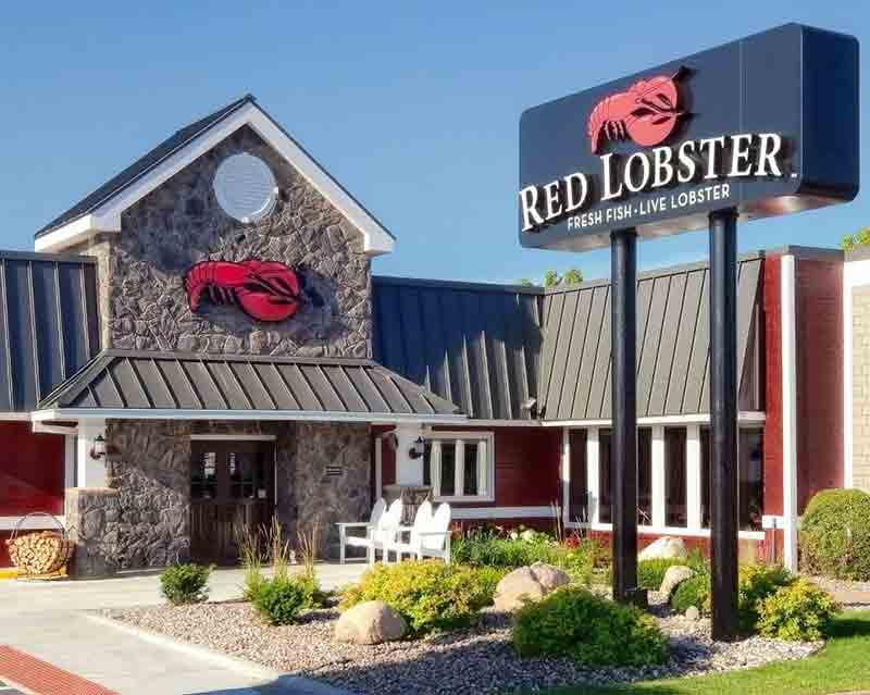 aragosta e waffle Red Lobster