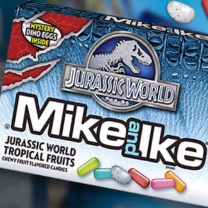 Cosa si mangia al Jurassic World Mike and Ike