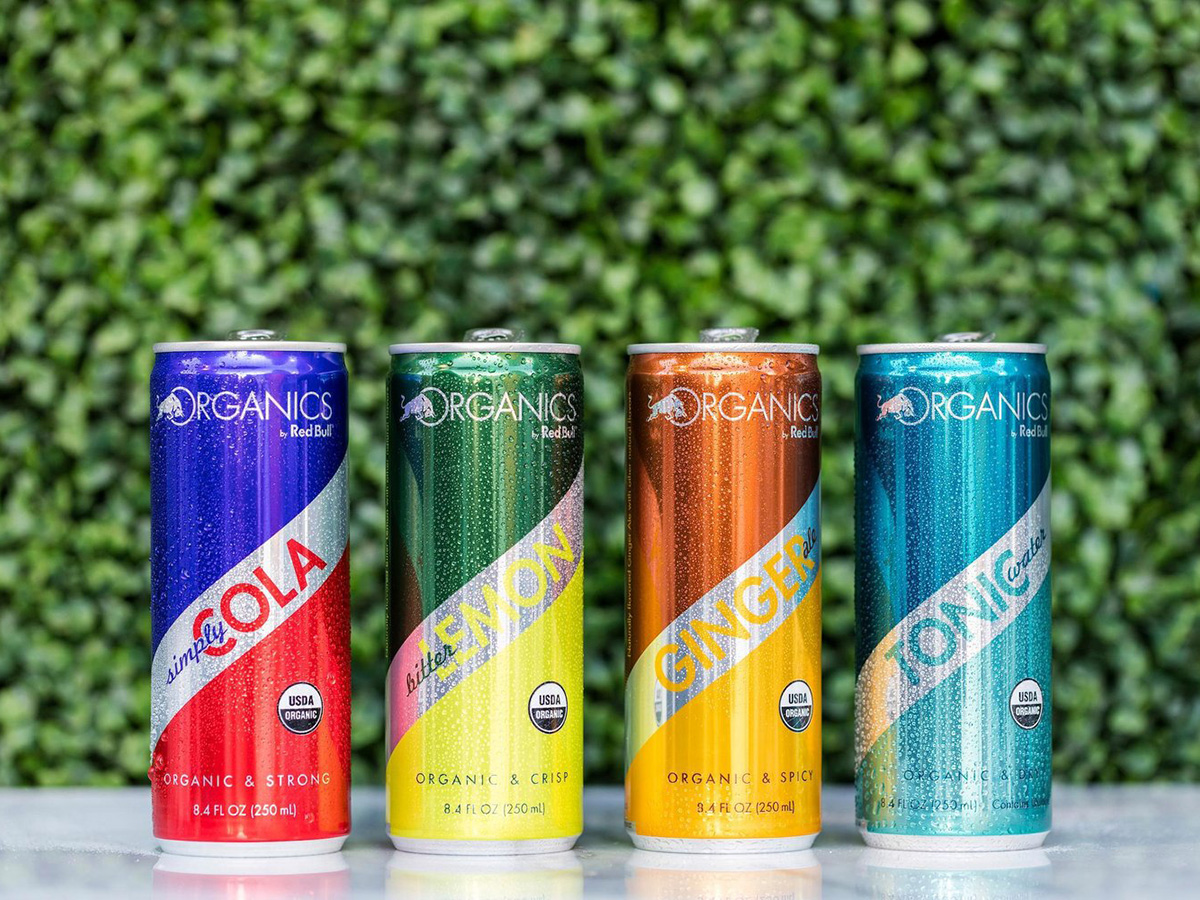 Red Bull ORGANICS il biologico secondo Red Bull