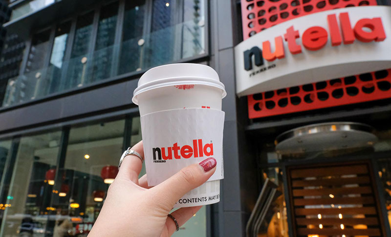 Ferrero apre un Nutella Cafe a New York
