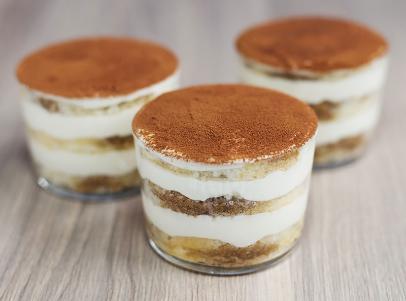 come preparare tiramisu light
