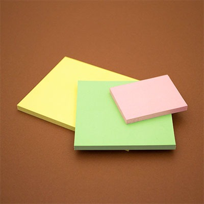 back to school ecologico Post-It Z-Notes