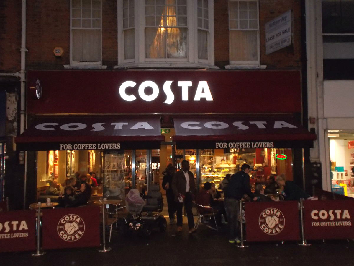 cola cola compra costa coffee