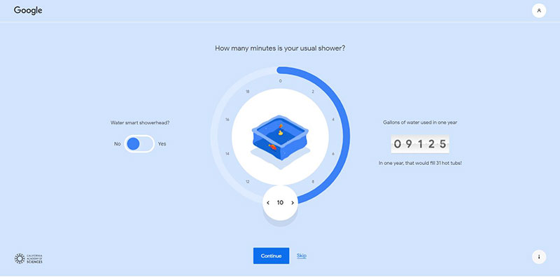 Your Plan Your Planet google ambiente acqua