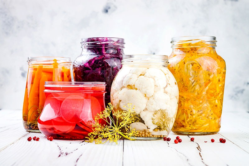 cibi fermentati amici dell'intestino food trend