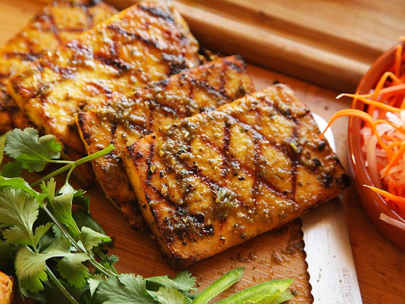 tofu tempeh barbecue vegan