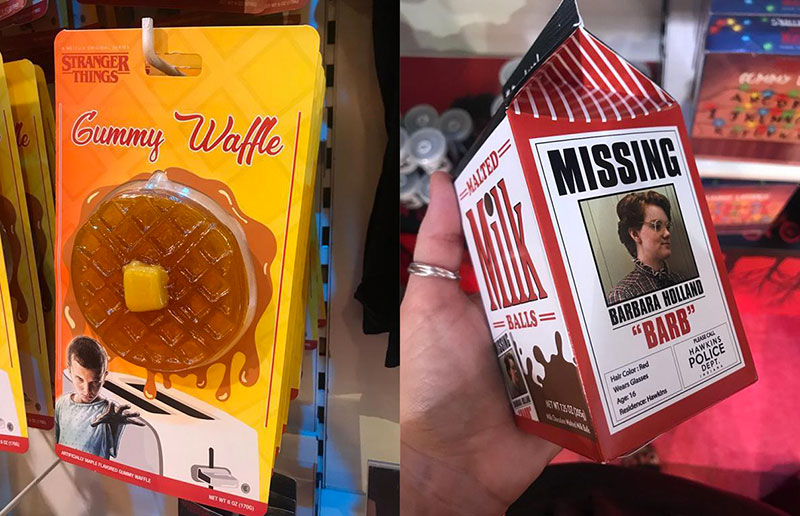 dolcetti halloween stranger things waffles gommosi