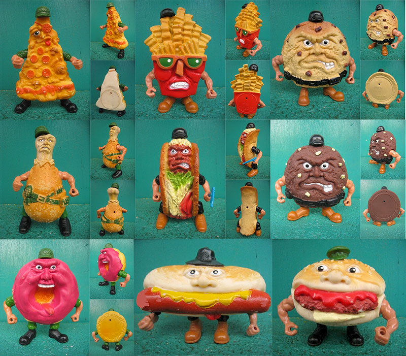 food fighters action figure