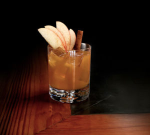 Apple Cider Old Fashioneds