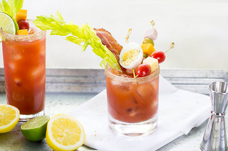 Caesar cocktail bloody mary
