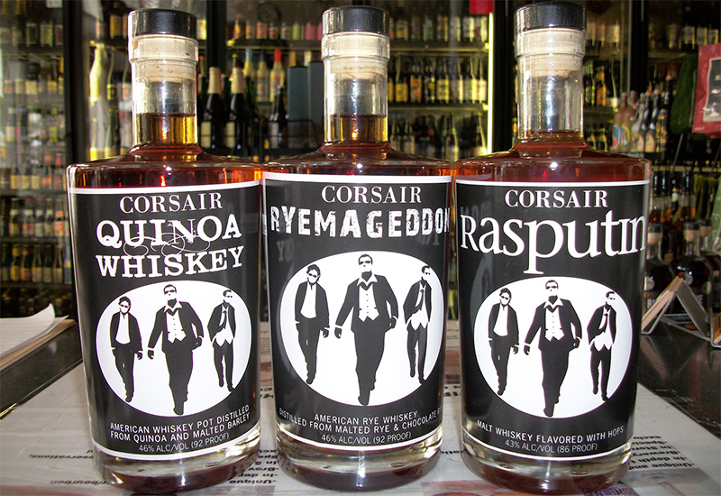 cosa Whiskey di quinoa
