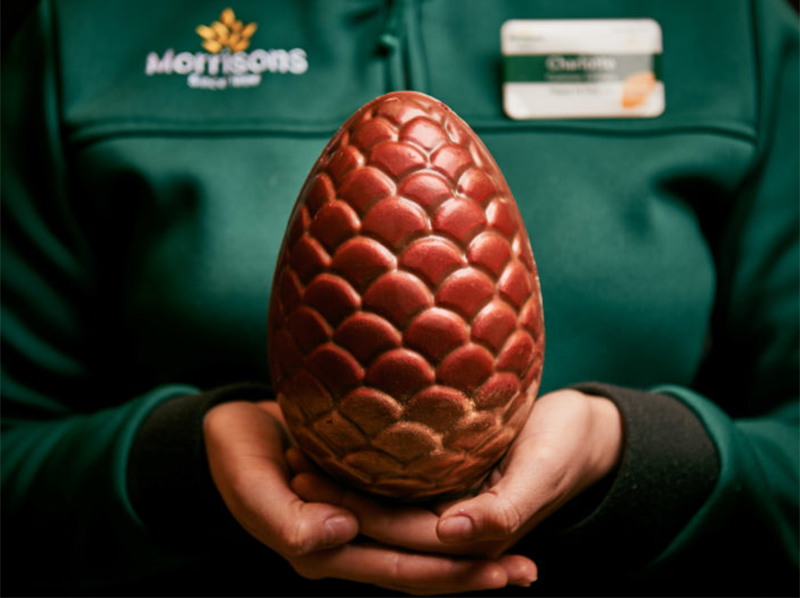uova di drago al cioccolato pasqua game of thrones