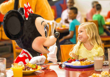 Disney World parco food blogger