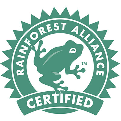 certificazione Rainforest Alliance