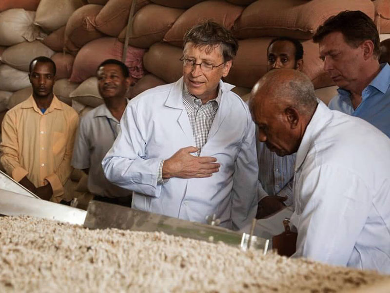 bill gates agricoltura biologica