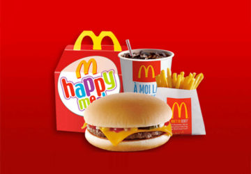 biologico happy meal bambini