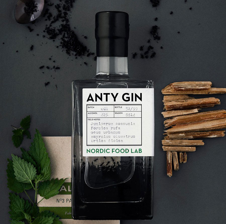 anty gin formiche rosse