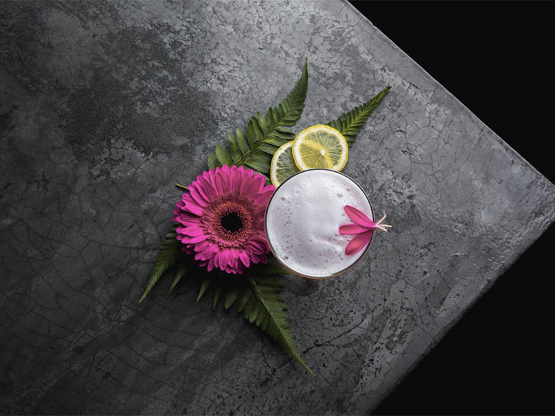 cocktail fiori idea