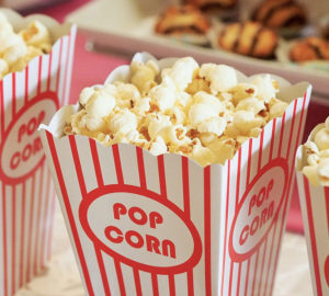 pop-corn senza glutine