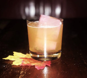 autumn in New York cocktail