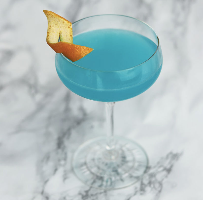 blue ice cocktail