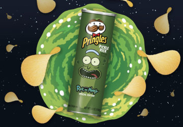 Pringles di Rick and Morty