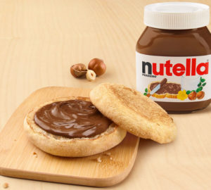 Nutella McDonald's McCrunchy Bread