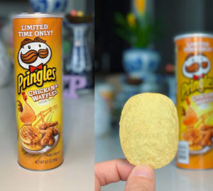 pringles chicken waffle