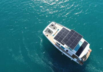 yacht energia solare
