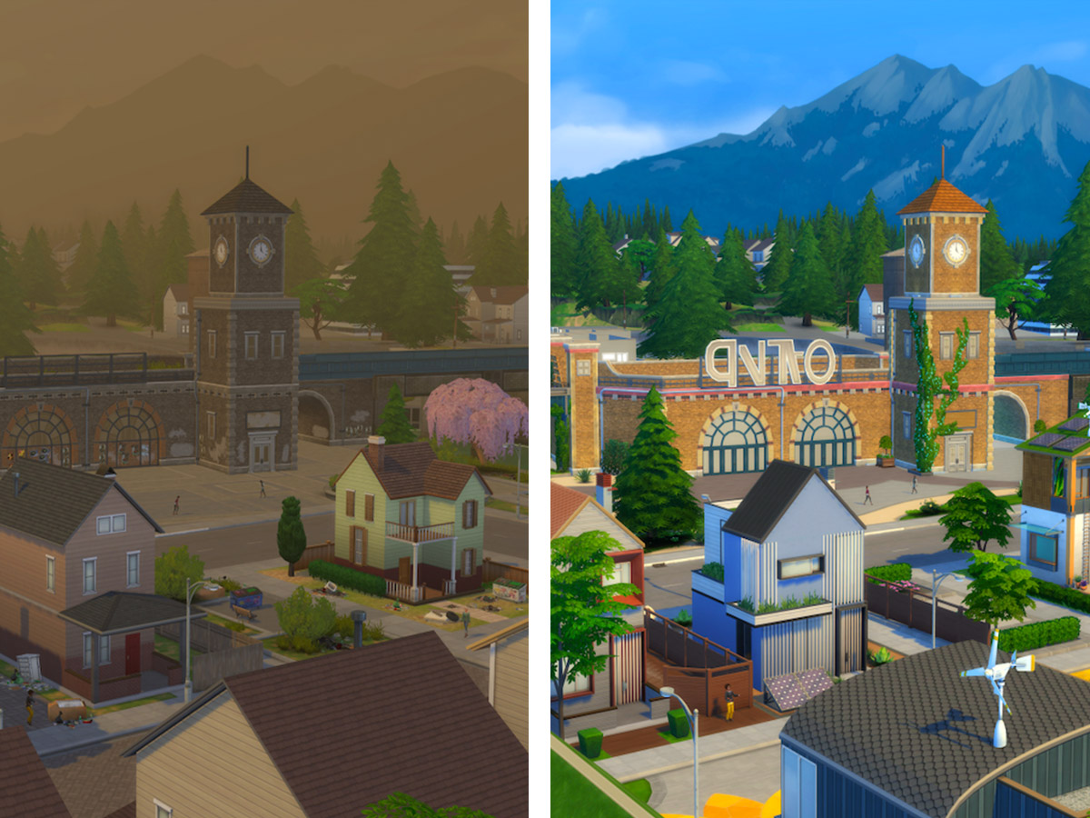the sims 4 green eco