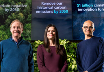 Microsoft carbon negative