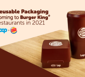 Burger King packaging riutilizzabile